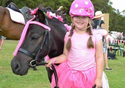 cute kid in pink