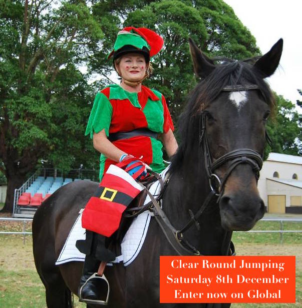 Xmas Theme Clear Round Jumping – 8 December