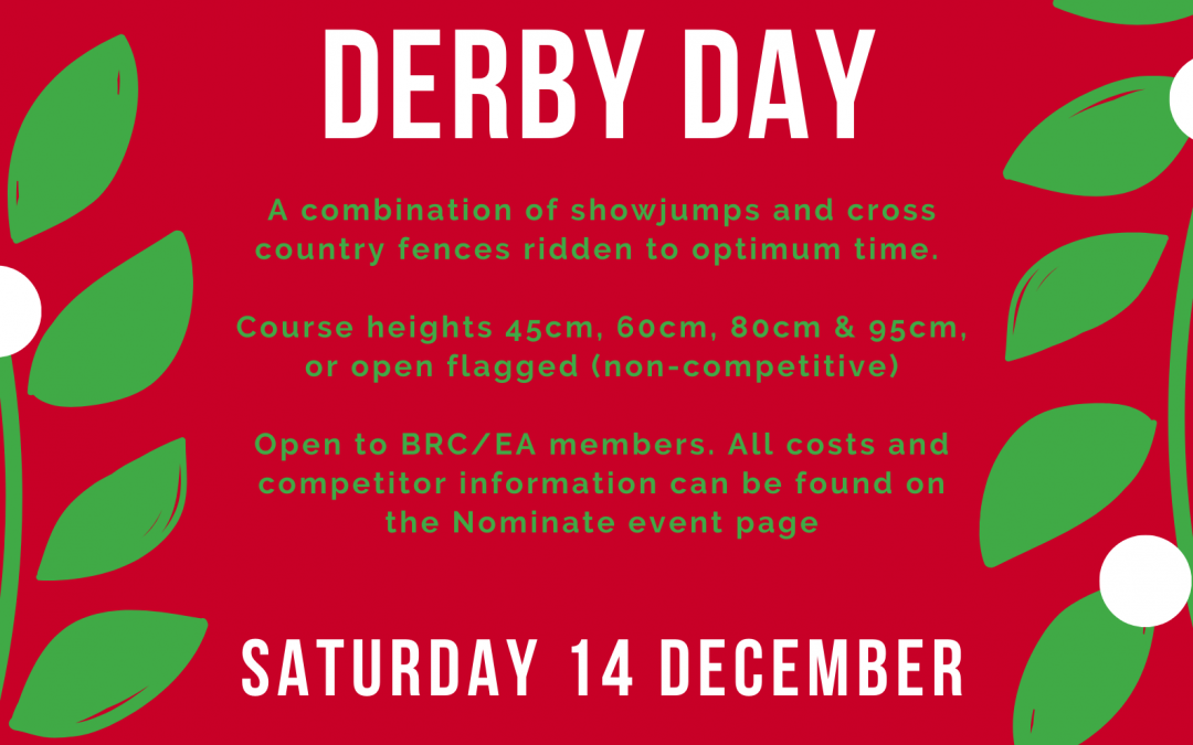 Derby Day – YAY!