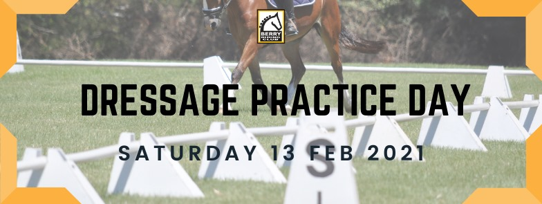 Dressage Practice Day – Sat 13 Feb