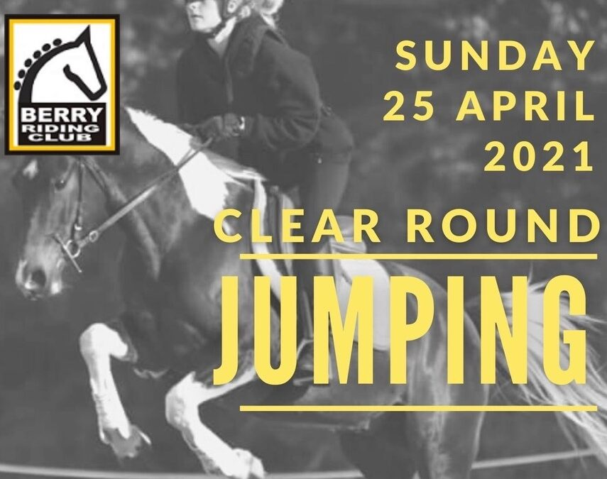 Clear Round Jumping – Sun 25 April